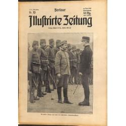 1284 preWWI-No. 16-1914 BERLINER ILLUSTRIRTE ZEITUNG German illustrated magazineApril 19 1914
