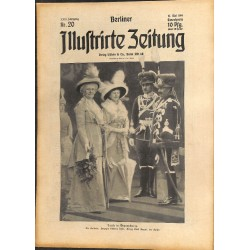 1288 preWWI-No. 20-1914 BERLINER ILLUSTRIRTE ZEITUNG German illustrated magazineMay 17 1914