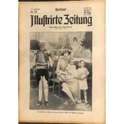 1289 preWWI-No. 21-1914 BERLINER ILLUSTRIRTE ZEITUNG German illustrated magazineMay 24 1914