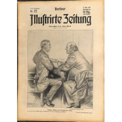 1290 preWWI-No. 22-1914 BERLINER ILLUSTRIRTE ZEITUNG German illustrated magazineMay 31 1914
