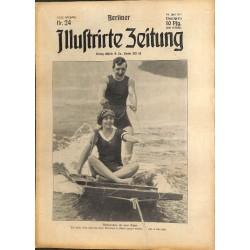 1292 Pancho Villa Mexico preWWI-No. 24-1914 BERLINER ILLUSTRIRTE ZEITUNG German illustrated magazineJune 14 1914