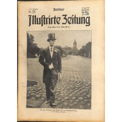 1293	 preWWI-No. 	25	-1914	 BERLINER ILLUSTRIRTE ZEITUNG	 German illustrated magazine	June 21 1914