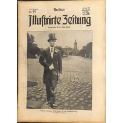 1293 preWWI-No. 25-1914 BERLINER ILLUSTRIRTE ZEITUNG German illustrated magazineJune 21 1914