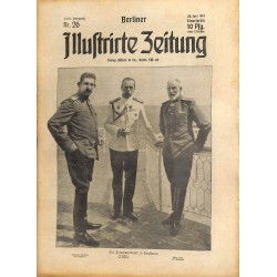 1294	 preWWI-No. 	26	-1914	 BERLINER ILLUSTRIRTE ZEITUNG	 German illustrated magazine	June 28 1914