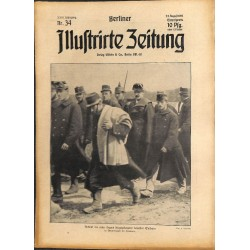 1302	 WWI -No. 	34	-1914	 BERLINER ILLUSTRIRTE ZEITUNG	 German illustrated magazine	August 23 1914