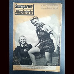 14201 STUTTGARTER ILLUSTRIERTE No. 35-1943 1.September