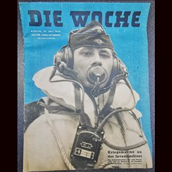 2701 DIE WOCHE-No.5-1939 WWII magazine - Easter, doctors, 48 pages,,german illustrated magazine, many photos
