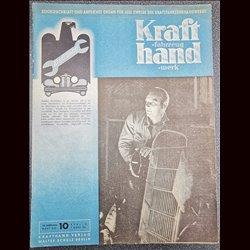 15237 KRAFTHAND No. 10-1942 7.März