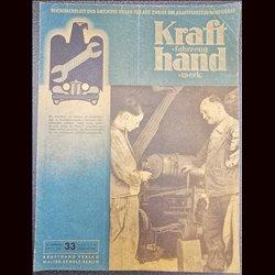 15245 KRAFTHAND No. 33-1942 15.August