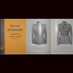 Preisliste der Heeres-Kleiderkasse 1939 (REPRINT) Katalog