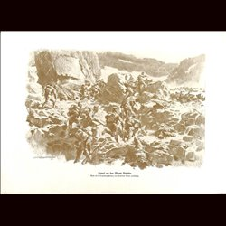 9049	 WWI print	 Monte Pasubio Hungro-Austrian troops mountains