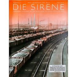 1589 DIE SIRENE No. 2-1938- Reichsluftschutzbund - RLB - Luftschutz magazine civil protection, firefighting, air raids