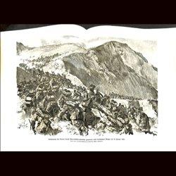 9079 WWI print Lovcen Austro-Hungarian troops January 1916 by Anton Hoffmann
