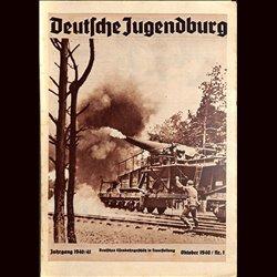 9114 DEUTSCHE JUGENDBURG No.  1-1940 Oktober Jahrgang 1940/41