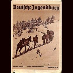 9115 DEUTSCHE JUGENDBURGNo.  4-1941 Januar Jahrgang 1940/41