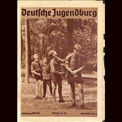 9116 DEUTSCHE JUGENDBURG No.  9-1940 Juni Jahrgang 1939/40