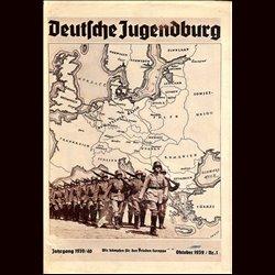 9118 DEUTSCHE JUGENDBURG No.  1-1939 Oktober Jahrgang 1939/40