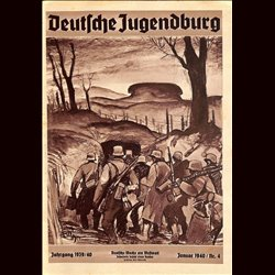 9119 DEUTSCHE JUGENDBURG No.  4-1940 Januar Jahrgang 1939/40