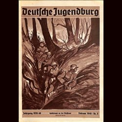 9120 DEUTSCHE JUGENDBURG No.  5-1940 Februar Jahrgang 1939/40