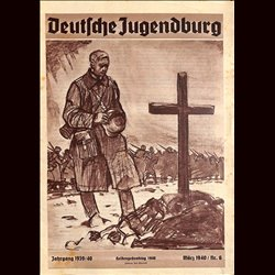 9121 DEUTSCHE JUGENDBURG No.  6-1940 März Jahrgang 1939/40