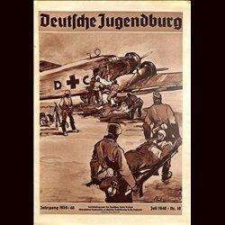 9122 DEUTSCHE JUGENDBURG No.  10-1940 Juli Jahrgang 1939/40