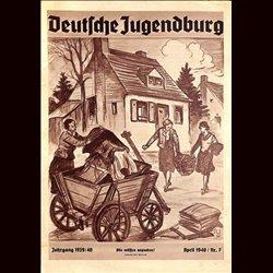 9123 DEUTSCHE JUGENDBURG No.  7-1940 April Jahrgang 1939/40