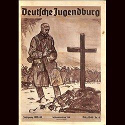 9125 DEUTSCHE JUGENDBURG No.  6-1940 März Jahrgang 1939/40