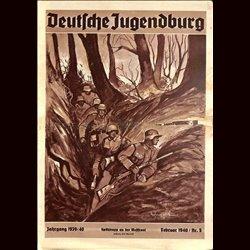 9127 DEUTSCHE JUGENDBURG No.  5-1940 Februar Jahrgang 1939/40