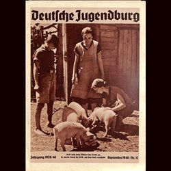 9128 DEUTSCHE JUGENDBURG No.  12-1940 September  Jahrgang 1939/40