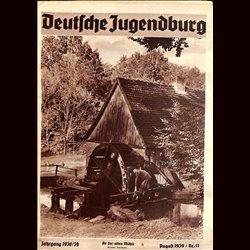 9129 DEUTSCHE JUGENDBURG No.  11-1939 August Jahrgang 1938/39