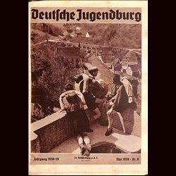 9131 DEUTSCHE JUGENDBURG No.  8-1939 Mai Jahrgang 1938/39