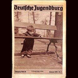 9133 DEUTSCHE JUGENDBURG No.  5-1939 Februar Jahrgang 1938/39