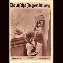 9134 DEUTSCHE JUGENDBURG No.  2-1938 November Jahrgang 1938/39