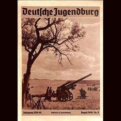 9135 DEUTSCHE JUGENDBURG No.  11-1940 August Jahrgang 1939/40