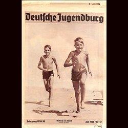 9136 DEUTSCHE JUGENDBURG No.  10-1939 Juli Jahrgang 1938/39