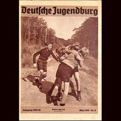 9139 DEUTSCHE JUGENDBURG No.  6-1939 März Jahrgang 1938/39