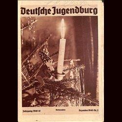 9140 DEUTSCHE JUGENDBURG No.  3-1940 Dezember Jahrgang 1940/41