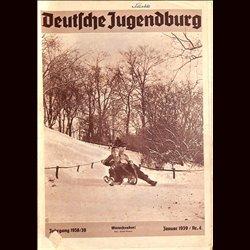 9141 DEUTSCHE JUGENDBURG No.  4-1939 Januar Jahrgang 1938/39