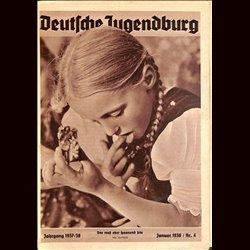 9145 DEUTSCHE JUGENDBURG No.  4-1938 Januar Jahrgang 1937/38