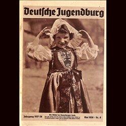 9146 DEUTSCHE JUGENDBURG No.  8-1938 Mai Jahrgang 1937/38