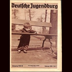 9148 DEUTSCHE JUGENDBURG No.  5-1939 Februar Jahrgang 1938/39
