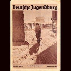 9149 DEUTSCHE JUGENDBURG No.  5-1941 Februar Jahrgang 1940/41