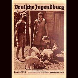 9151 DEUTSCHE JUGENDBURG No.  12-1940 September  Jahrgang 1939/40