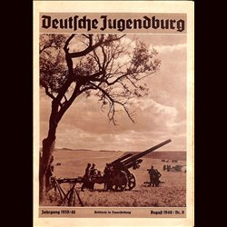 9152 DEUTSCHE JUGENDBURG No.  11-1940 August Jahrgang 1939/40