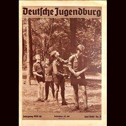 9153 DEUTSCHE JUGENDBURG No.  9-1940 Juni Jahrgang 1939/40