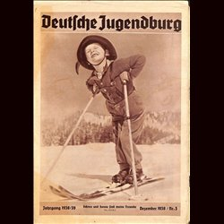 9155 DEUTSCHE JUGENDBURG No.  3-1938 Dezember Jahrgang 1938/39