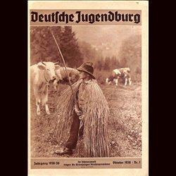 9156 DEUTSCHE JUGENDBURG No.  1-1938 Oktober Jahrgang 1938/39