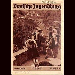 9157 DEUTSCHE JUGENDBURG No.  8-1939 Mai Jahrgang 1938/39