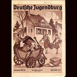 9158 DEUTSCHE JUGENDBURG No.  7-1940 April Jahrgang 1939/40