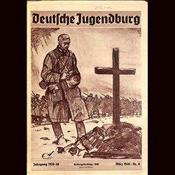 9159 DEUTSCHE JUGENDBURG No.  6-1940 März Jahrgang 1939/40